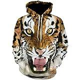 Men Hoodies Hip Hop Sweatshirt Funny 3D Tiger Lion Fashion Brand Plus Size S - 5XL Hoodie Men Tracksuit Unisex Pullovers