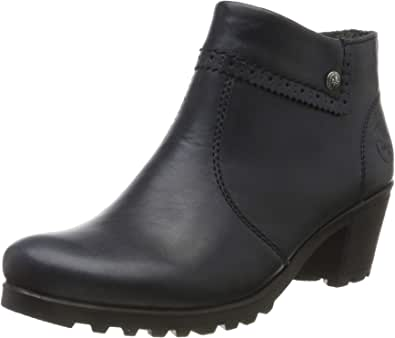 Rieker Damen Stiefeletten M8081, Frauen Ankle Boots: Amazon bl6At