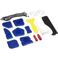Amazon Basics Kit d'outils pour mastic et calfeutrage, 18 pièces