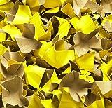 progressFILL DECOFILL Füll- u. Polsterchips, gelb 180g - ca. 120 ltr. i. Karton m. Ausfüller