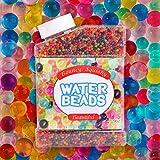 Opret Bolas de Gel de 10 Colores Más de 9 Oz, 50000 Perlas de Hidrogel Perlas de Agua para Decoración de Boda y Muebles Plantas Pistolas