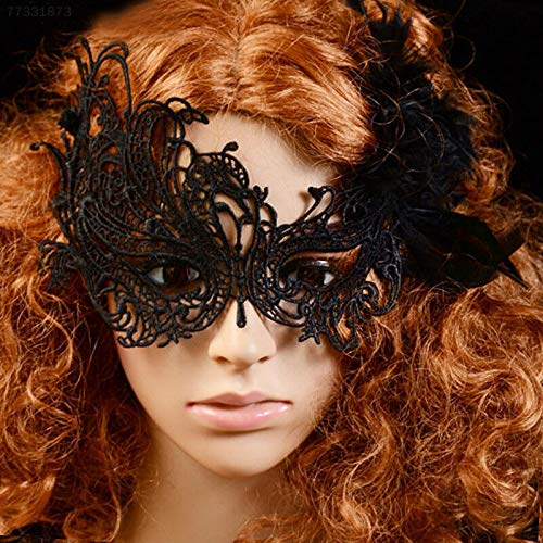 ELECTROPRIME 9404 Sexy Women Lace Face Mask Masquerade Fancy Makeup Party Prom Halloween Cost