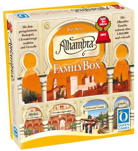 Preisvergleich Produktbild Queen Games 6035 - Alhambra-Family Box - Spiel des Jahres 2003