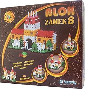 Vista Vista0305-58 Block 8 - Juego de construcción de Castillos (21 Piezas)