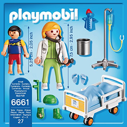 PLAYMOBIL 6661 – Ärztin am Kinderkrankenbett - 3