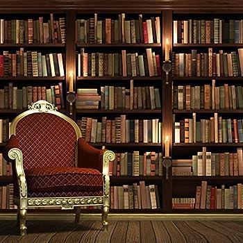 Tapete Bücherregal 3d stereoskopische tapeten moderne mode büro studie wohnzimmer