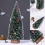 Künstlicher Weihnachtsbaum, Mini Grün Tannenbaum, 15/20/25/30cm Naturgetreuer Christbaum für Tischdeko,Fensterdeko, DIY, Schaufenster, Schwarzes Rot Rosa Weißes Gelbes Dunkelgrünes Deko Xmas Tree