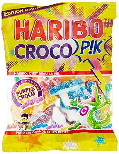 Haribo Croco Pik Bonbons Le Paquet 275 g - Lot de 6