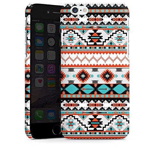 Apple iPhone 5s Housse Étui Protection Coque Ethnique Aztèques Motif Cas Premium mat