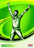 Cricket World Cup - Pakistan - Wall Poster Print - 43cm x