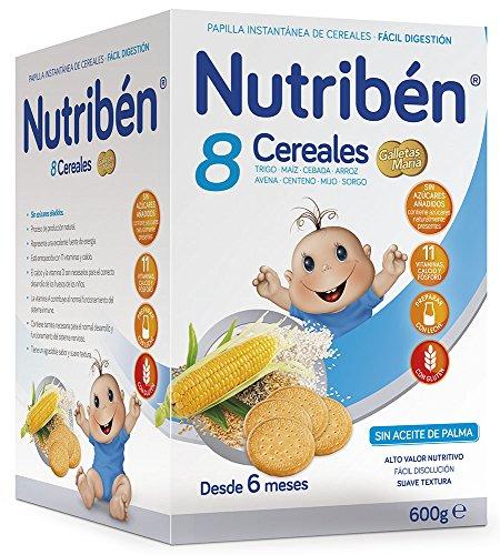 Nutribén Papilla 8 Cereales Galletas Maria - 300