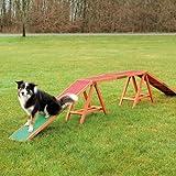 Trixie 32090 Dog Activity Agility Steg, 456 × 64 × 30 cm