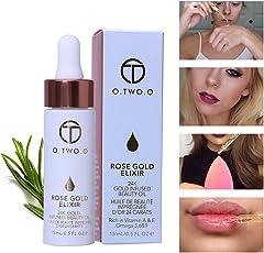 OYGIRL Elixier Haut Make Up Öl Face Essence 15ml Gesicht Ätherisches Öl für Make-up-Primer, Feuchtigkeitsspendende Lippen, Feuchtigkeitsspendende Gesicht, Absorbieren Schnell (A)