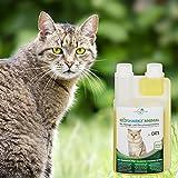 Geruchsneutralisierer Spray für Katzen – natürlicher Katzenurin Entferner – gegen Katzenklo Geruch (500ml Konzentrat ergeben 25 Liter gebrauchsfertigen Katzenurin Geruchsentferner) - 7