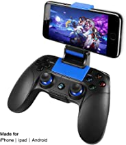 Controller Mobile Senza Fili PowerLead PG8718 per PUBG, Gamepad Wireless Supporto for iOS Android iPhone iPad Samsung Galaxy