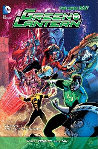 Green Lantern Volume 6: The Life Equation HC (The New 52) por Robert Venditti