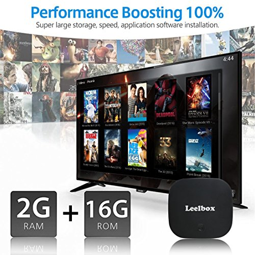 Android 7 1 TV Box Leelbox Q2 pro 2GB 16GB Dual-WIFI 2 4GHz 5GHz with BT 4 0 Supporting 4K  60Hz  Full HD Smart Set Top Box