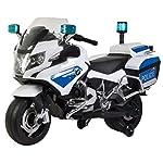PlayArena Ride on BMW Licensed Police Bike Silver