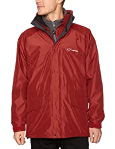 Berghaus Arctic Gemini 3 in 1 Men's Jacket - Red Spice/Grey Marl, Small