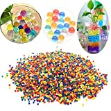 Water Beads,5000PCS Multi-colors Water Bullet Balls, Water Gel Beads Jelly Water Pearl for Vase Filler Aqua Plant Decoration