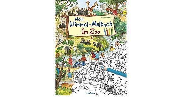 Mein Wimmel-Malbuch - Im Zoo: Amazon.co.uk: 9783480232697: Books