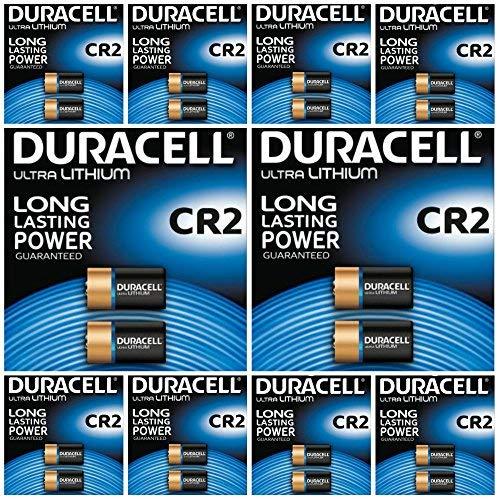 Duracell Ultra CR23V Lithium Fotobatterie –DLCR2–EL1CR2–CR15H270, 20Stück -