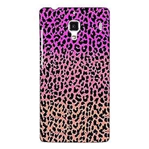 Jugaaduu Cheetah Leopard Print Back Cover Case For Redmi 1S