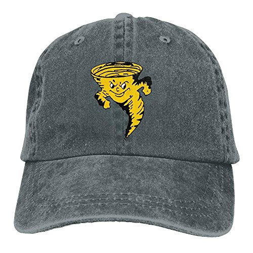 15263c63252d3 Aoliaoyudonggha Tornado Pizza Unisex Adjustable Baseball Caps Denim Hats  Cowboy Sport Outdoor