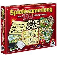 Schmidt-Spiele-49147-Spielesammlung100-Mglichkeit Schmidt Spiele 49147 – Spielesammlung, MIt 100 Spielmöglichkeiten -