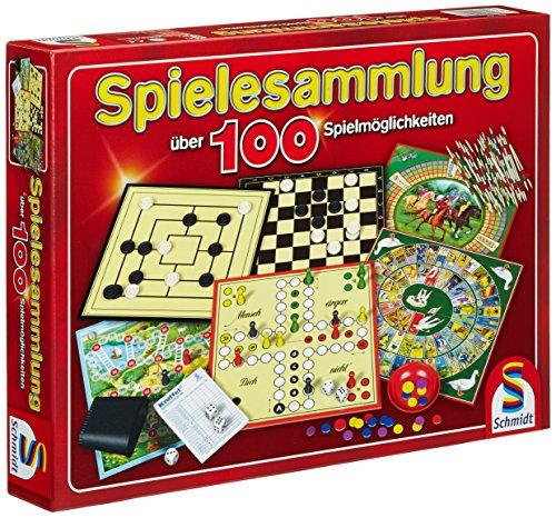Schmidt Spiele 49147 Spielesammlung,100 Möglichkeit