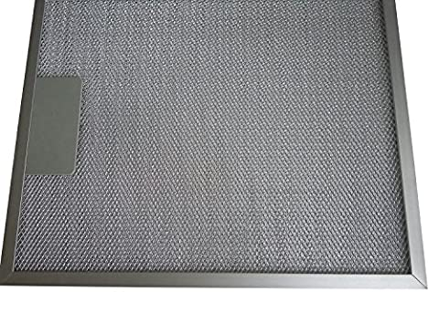 Water Filter Tree Pack Of 2 Cooker Hood Metal Grease Filter Measuring Frame To Frame Size: 320mm X 260mm, Inside Frame Size: 295mm X 235mm - Silver - 3 Years FREE Guarantee!