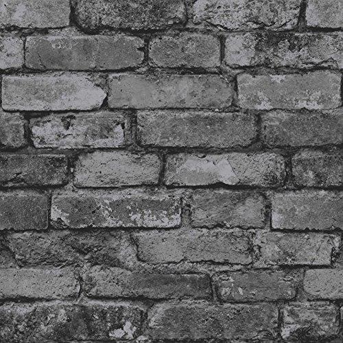 brewster-fd31284-rustic-brick-wallpaper-silver