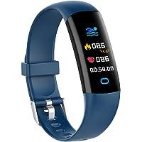 YoYoFit Fitness Tracker Kinder mit Blutdruck Pulsmesser,Fitness Uhr Wasserdicht IP68 Schwimmaktivität Schrittzähler…