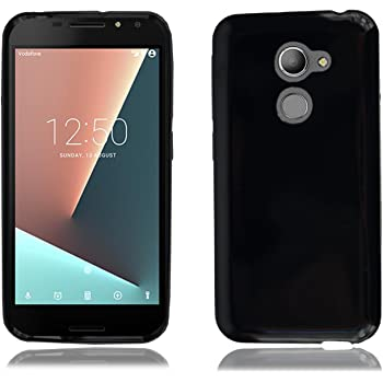 buy online 3bc22 f691a PIXFAB Vodafone Smart V8 VFD 710 New Genuine Black Gel: Amazon.co.uk ...