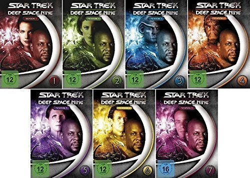 Star Trek -Deep Space Nine/Season-Box 1- 7 im Set - Deutsche Originalware [48 DVDs] (Star Trek Staffel 5)