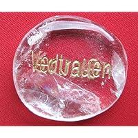 Wunscherfüllungsstein Bergkristall mit Gravur Glaube/Vertrauen 3,5-4 cm preisvergleich bei billige-tabletten.eu