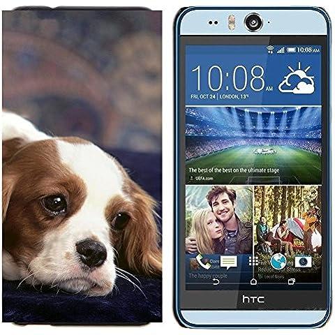 Copertura di plastica Shell Custodia protettiva || HTC Desire Eye ( M910x ) || Cavalier King Charles Spaniel Cane @XPTECH