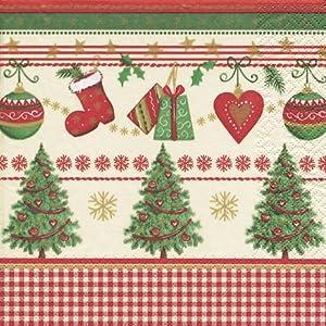 20 Servietten Traditional Christmas – Weihnachten mit Tradition / Weihnachten / Muster 33x33cm