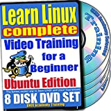 Aprenda Linux para un Aprenda Linux completo para un Video de entrenamiento para principiantes y Cuatro Bundle exámenes de certificación. Ubuntu Edition. 8-disco DVD Set, Ed.2011