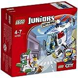 LEGO - 10720 - Juniors  - Jeu de Construction - La Poursuite en Hélicoptère de Police