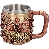 Nemesis Birra brocca Bere Nave Cranio Steampunk Gotico Halloween Decorativo Fantasia
