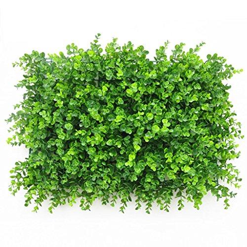 Tappeto erboso artificiale, Tappeto erboso artificiale, Erba sintetica finta per arredo interno/esterno, Decorazione vegetale finto fiore (Color : 4)