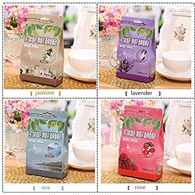 Bluelover Natural Sachet Bathroom Kitchen Car Wardrobe Air Freshener Indoor Deflavour Deodorization Sachet