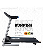 REACH T-5000 Treadmill for Fitness   1.75 HP Motor  3 Step Inclination   Electric Automatic Motorized Treadmill for Home use