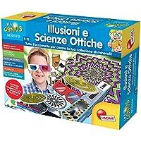 Liscianigiochi- I'm a Genius Science Gioco per Bambini Laboratorio Illusioni e Scienze Ottiche, 56156