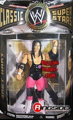 WWE Wrestling Classic Superstars Series 26 Action Figure Bret Hart by Jakks by Jakks Pacific