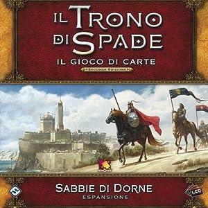 Asmodee Italia-Juego de Tronos LCG 2nd Ed. expansión Sabbie de Dorne Juego de Mesa, Color, 9236
