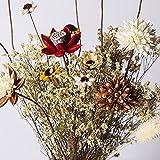 KIKIXI Französische Tutao grobe Keramik Vase Blume Blume Blume Dekoration Zimmer Retro Creative Flower Bouquet, 80 CM Vase (keine Blume)