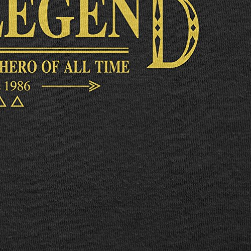 TEXLAB - The Legend - Herren T-Shirt Schwarz