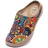 UIN Ciabatte Estive Uinsex,Scarpe Espadrillas Colorate Casual Slip on Mocassini Arte dipinte Colorate Basse Sneakers Tela da